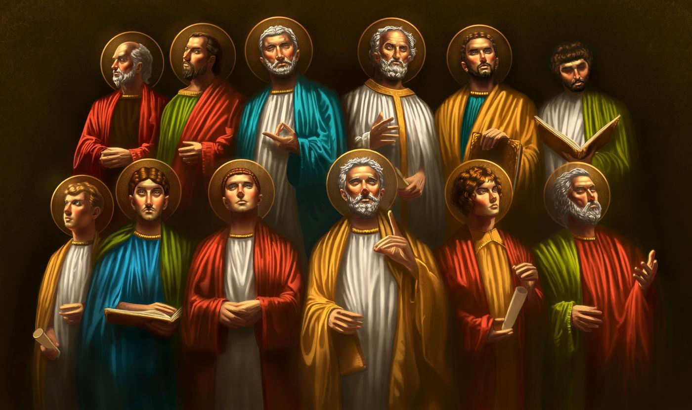 The Twelve Disciples (Acts 1:12-17, 21-22)   Pilgrim at ...