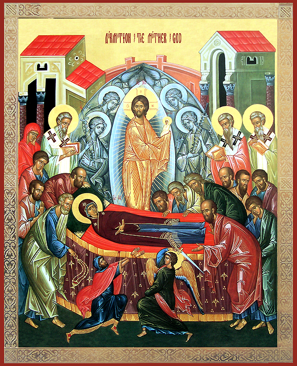 Icon of the Feast of the Dormition 3