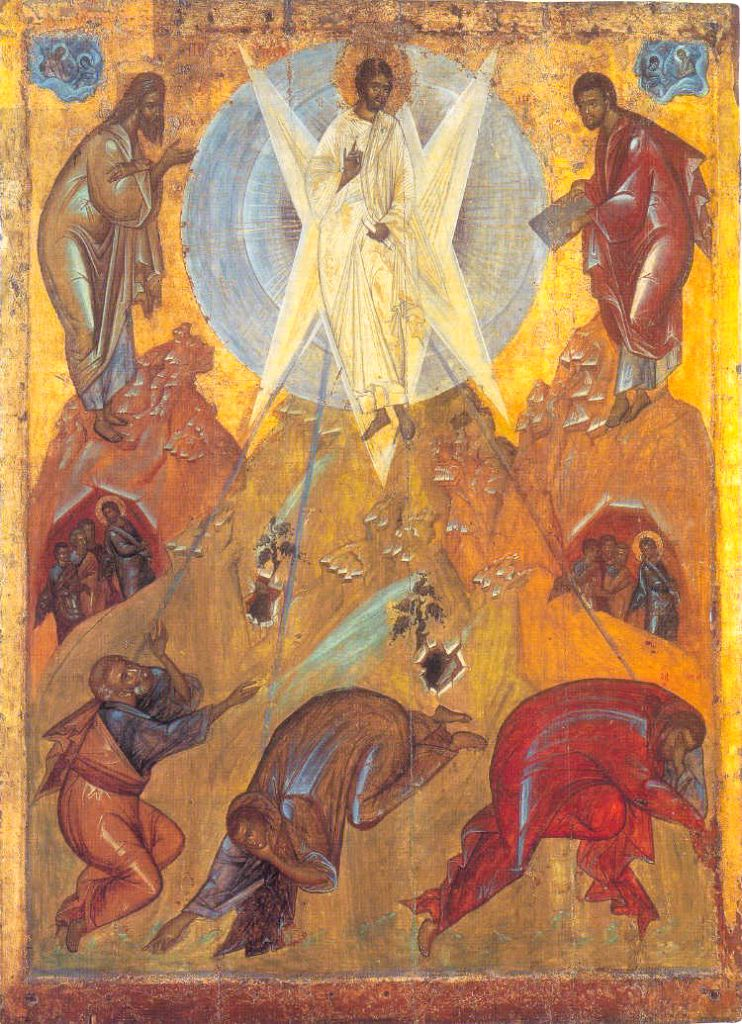 Icon of the Feast of Transfiguration 1
