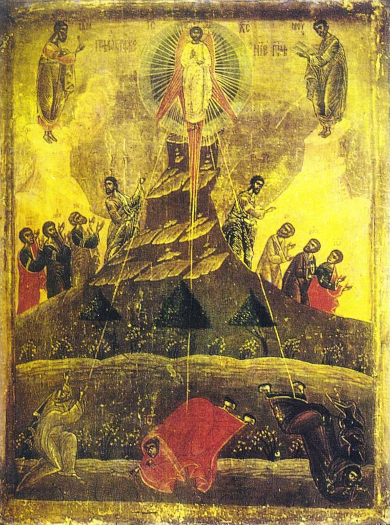 Icon of the Feast of Transfiguration 2