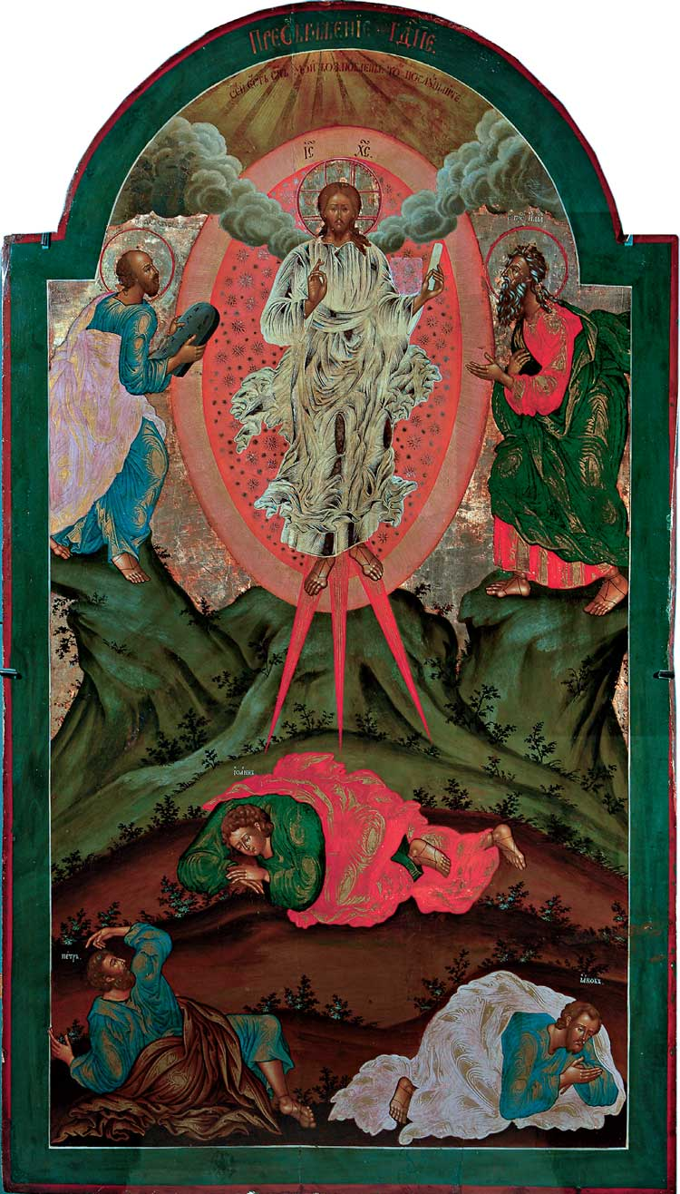 Icon of the Feast of Transfiguration 3