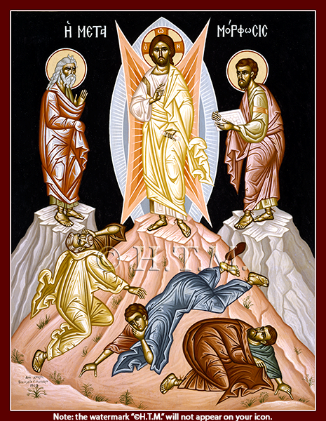 Icon of the Feast of Transfiguration 4